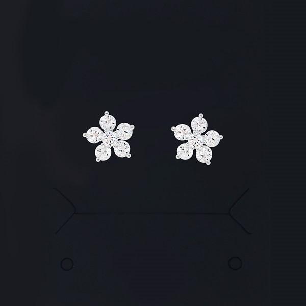 [실버] 카시아 미니 꽃 귀걸이