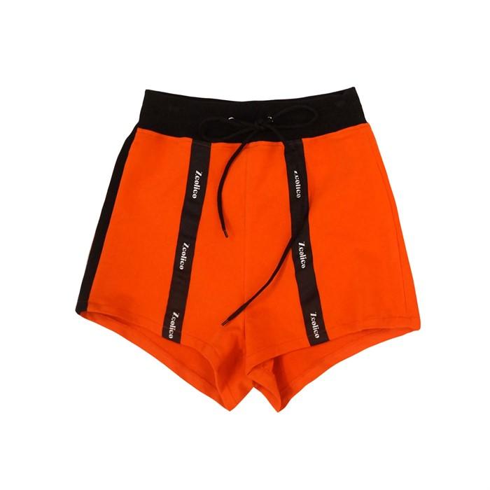 [곽현주컬렉션] [젯콜리코] ORANGE TRAINING SHORT PANTS