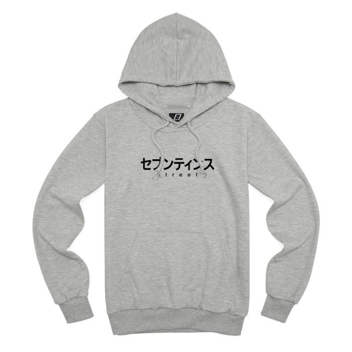 [SEVENTEENTH] JAPAN FONT HOODY - GRAY