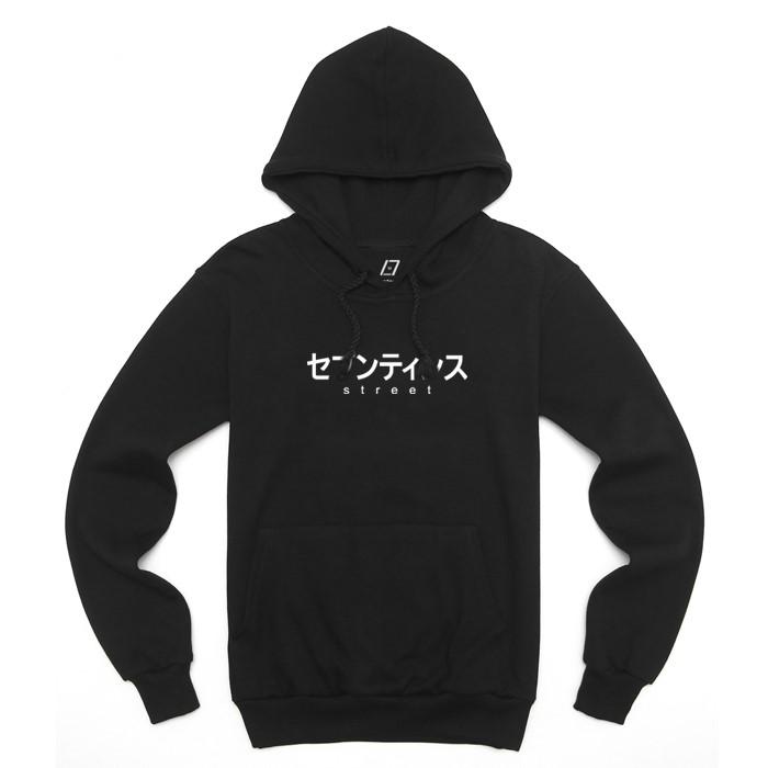 [SEVENTEENTH] JAPAN FONT HOODY - BLACK