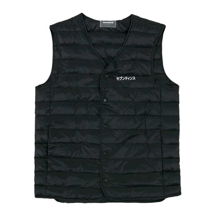 DUCK DOWN ULTRA LIGHT VEST - BLACK