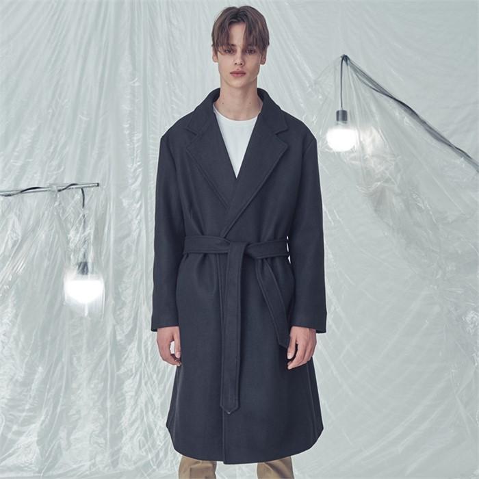 [트립르센스] LE ROBE COAT BLACK