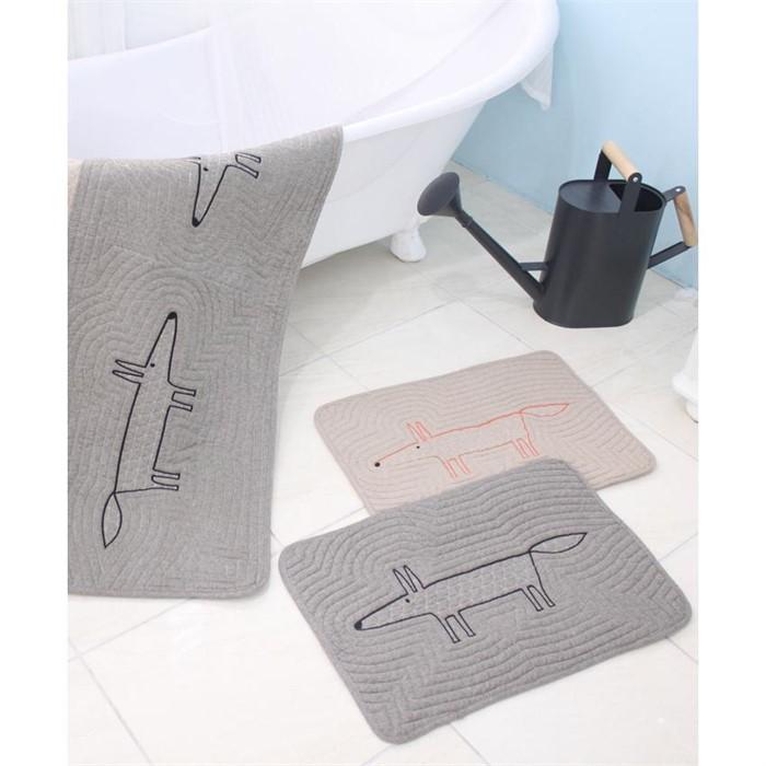 여우 퀄팅 발매트(40*60)욕실매트,주방매트,소파패드