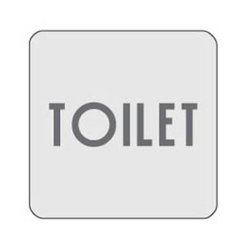 [아트사인] [아트사인] 표지판 TOILET 120x120mm