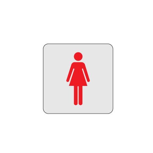 [아트사인] [아트사인] 표지판 화장실 여자용120x120mm