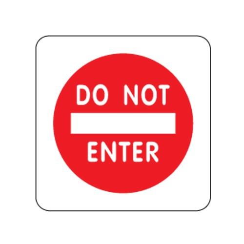 [아트사인] [아트사인] 표지판 DO NOT ENTER100x100mm