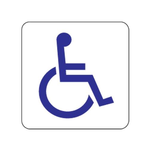 [아트사인] [아트사인] 표지판 장애인 100x100mm