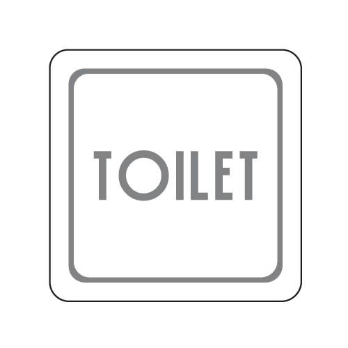 [아트사인] [아트사인] 표지판 TOILET 100x100mm