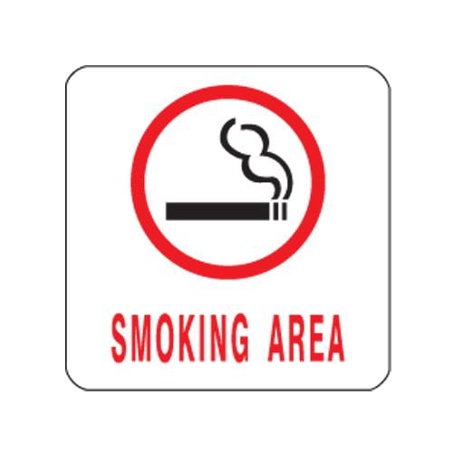 [아트사인] [아트사인] 표지판 SMOKING 100x100mm