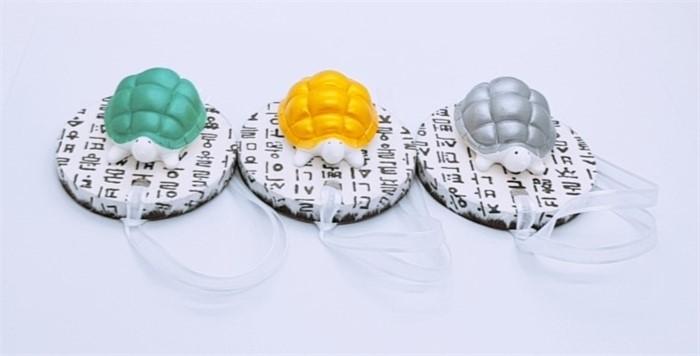 [해도지] 거북이석고방향제,선물,장수,한지,전통