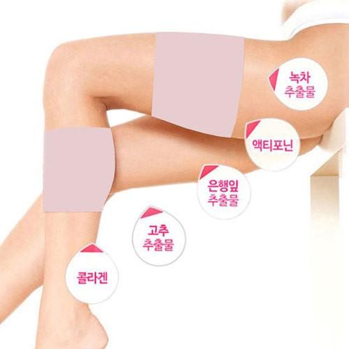 눈꽃데일리 슬림 허벅지 종아리패치(1set 7매)