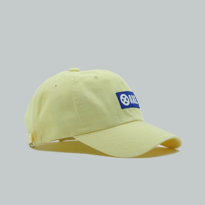 [서드] 워싱 빈티지 볼캡_레몬