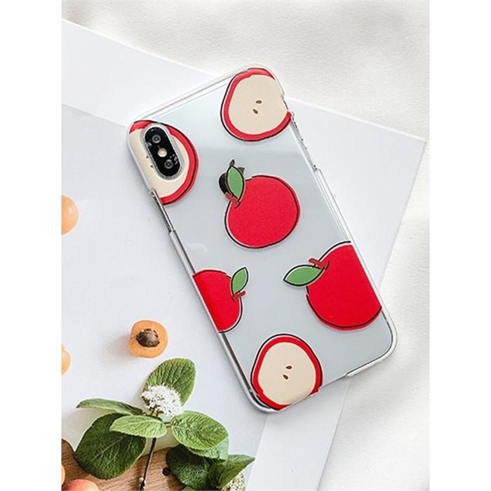 [일루아] 사과스케치 아이폰 케이스