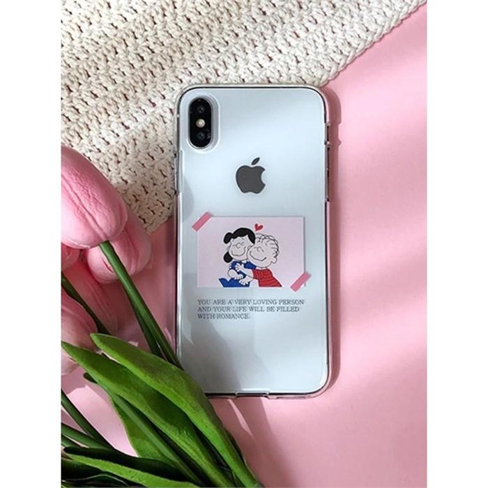 [일루아] 로맨틱커플 아이폰케이스