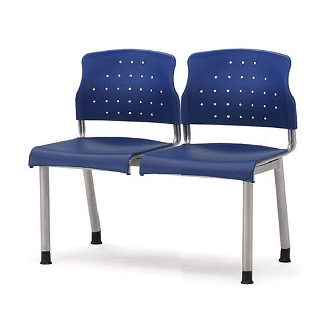 레인보우연결의자(2인석)-블루