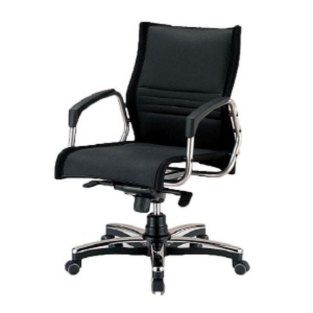 모시(중) 레자(블랙) 의자 사무실의자 사무의자...