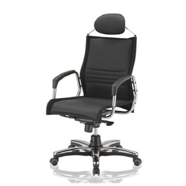 모시(대) 레자(블랙) 의자 사무실의자 사무의자...