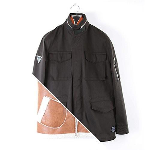 [에잇볼륨]M-65 Jacket with Inner Vest (Dark Olivegreen)