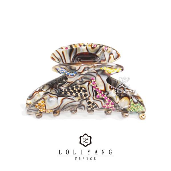 LOLIYANG Burgau marble (프랑스 명품 집게핀)