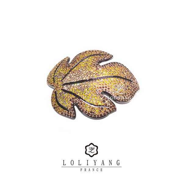 LOLIYANG Automne yellow (프랑스 명품 헤어핀)