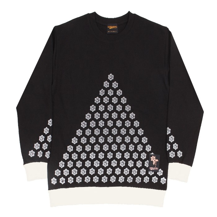 EV T.Flower Crewneck (Black)