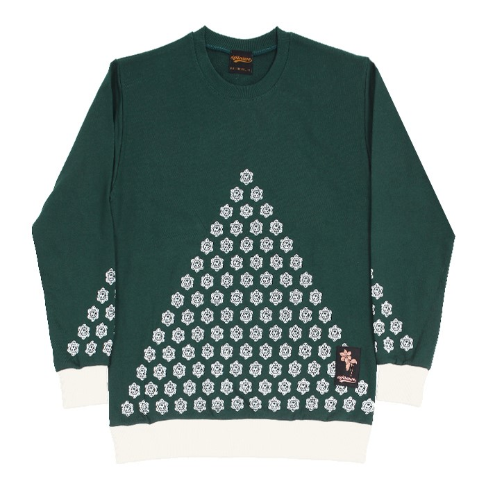 EV T.Flower Crewneck (Green)