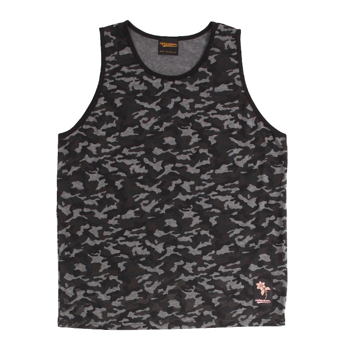 [에잇볼륨]EV Dark Camo Sleeveless