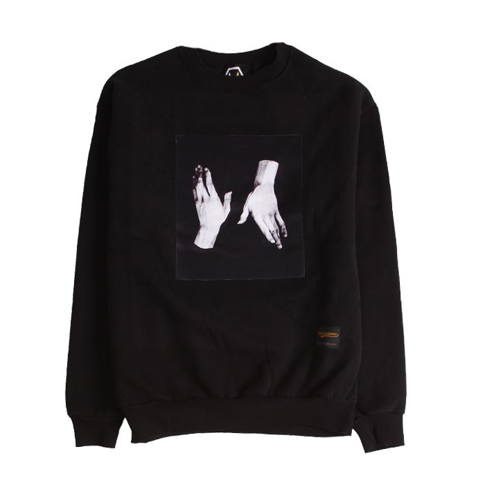 [에잇볼륨] EV Twohands Napping Crewneck