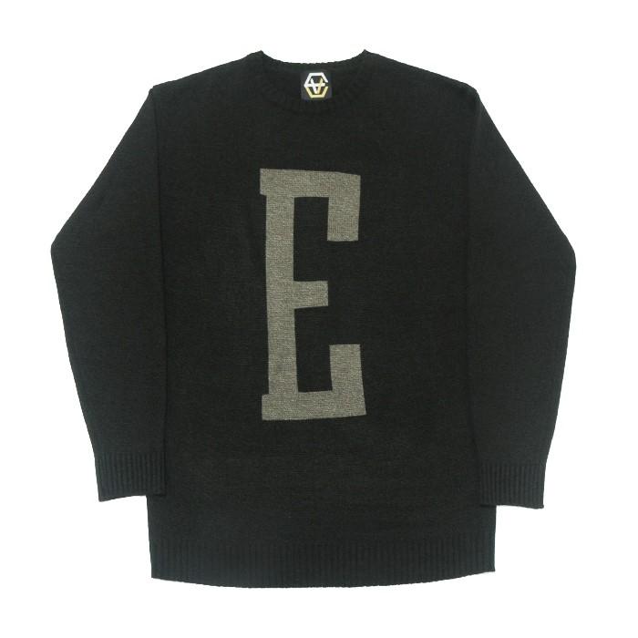 EV E Logo Knit (Black)
