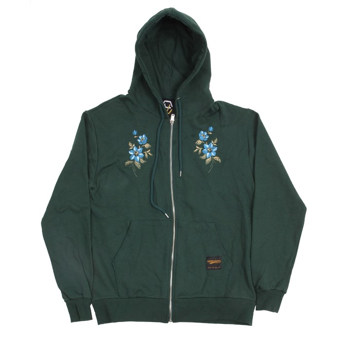 EV M.Flower Hoodzip (Green)