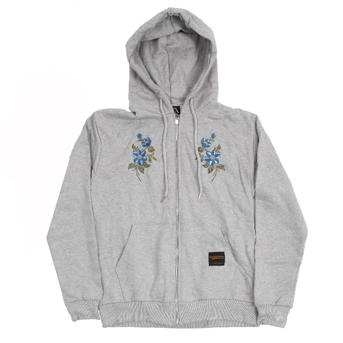 EV M.Flower Hoodzip (Gray)