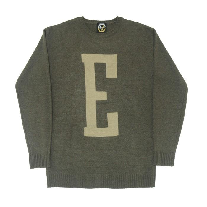 EV E Logo Knit (Brown)