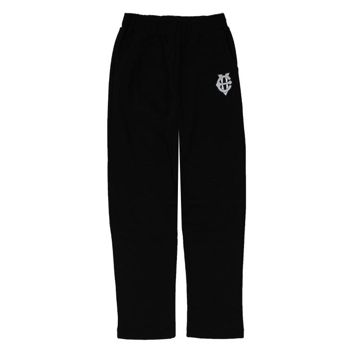 [에잇볼륨]EV Emblem Sweat Pants(Black)