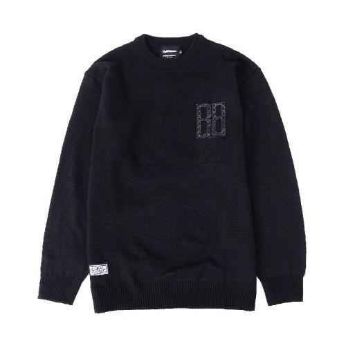 [에잇볼륨]EV BTB Basic Knit (Black)