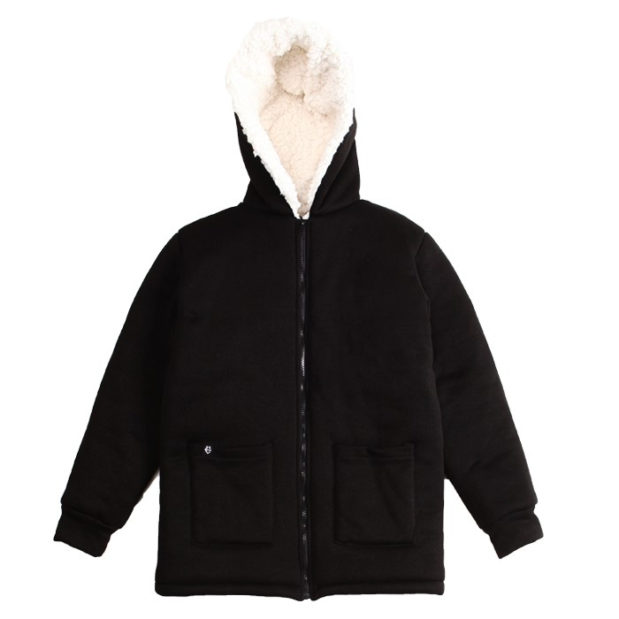 [에잇볼륨] EV Heavy Fleece Knit Coat