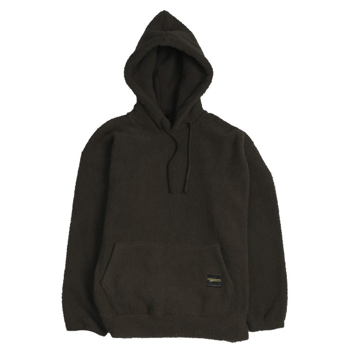 [에잇볼륨] EV Doublesided Fleece Hood (Brown)