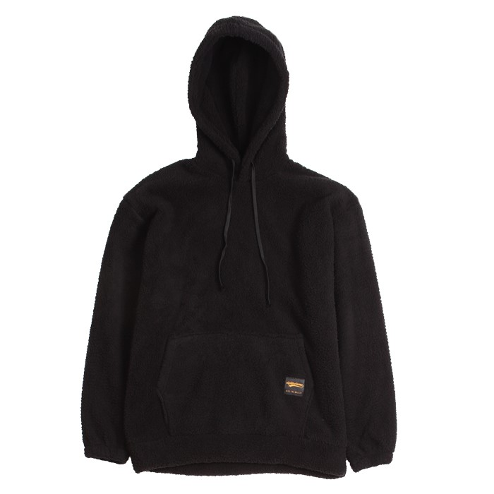 [에잇볼륨] EV Doublesided Fleece Hood (Black)