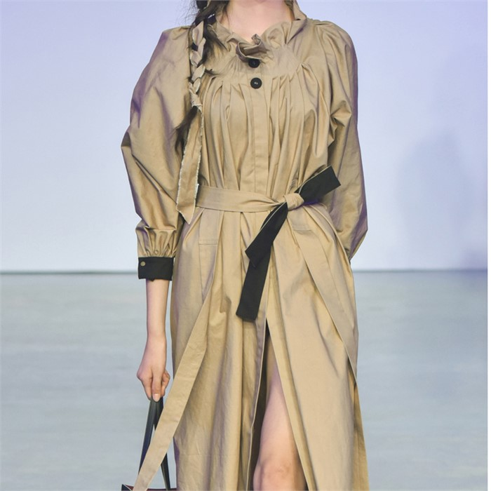 [사이미전] TRENCH DRESS BEIGE