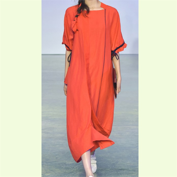 [사이미전] VOLANT LONG DRESS RED