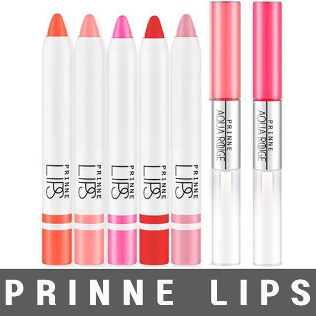 촉촉한 프린느 립스 립 크림 컬러 크레용 아쿠아루즈