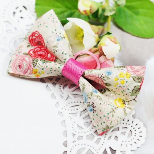 [문펫] 로즈왕리본 (핑크)