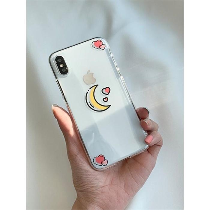 [일루아] 달빛하트 아이폰 젤리케이스