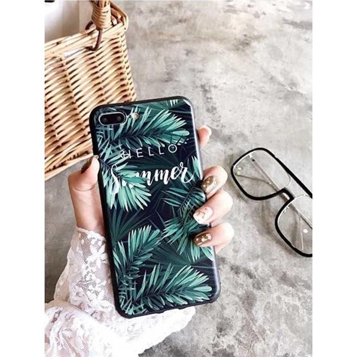 [일루아] 바캉스 야자수잎 아이폰 젤리케이스
