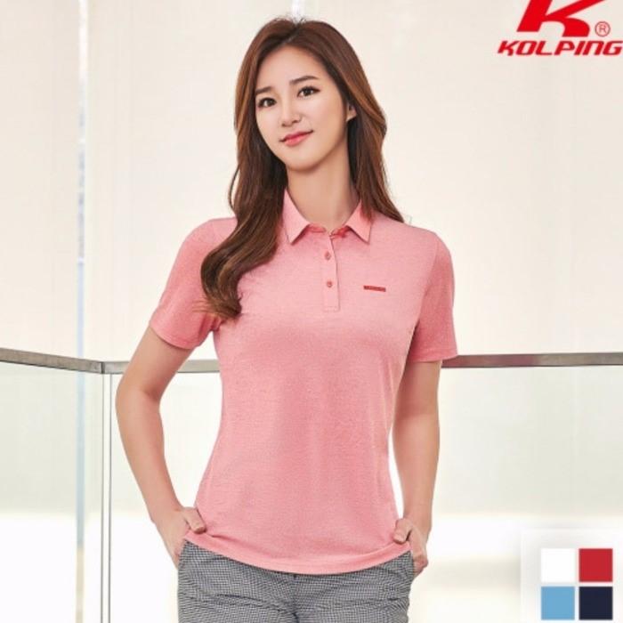 콜핑 NC05 여성 쿨소재 반팔 카라 티셔츠 KQT0537W