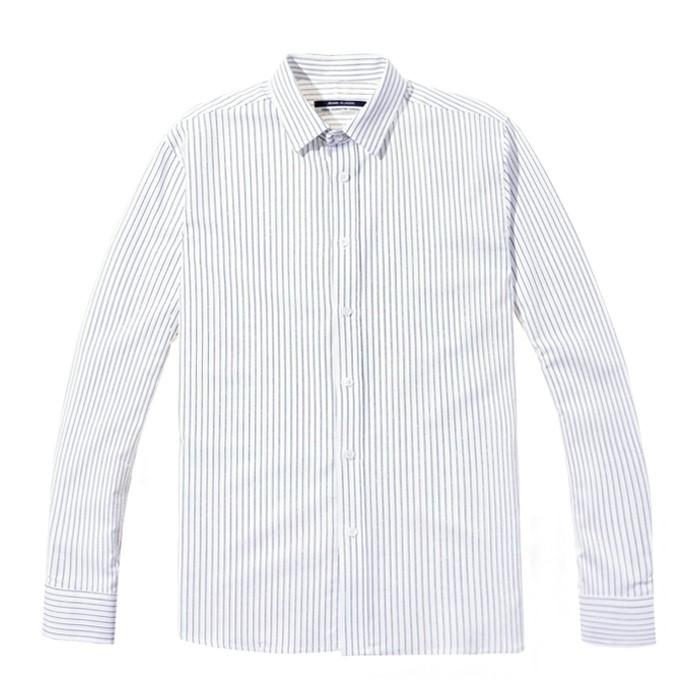 [Jbans]핀스트라이프 버튼다운셔츠 (C1901-ST042_WT)