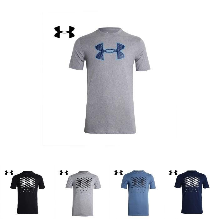 언더아머 브랜드로고 티셔츠 (8종택일)
