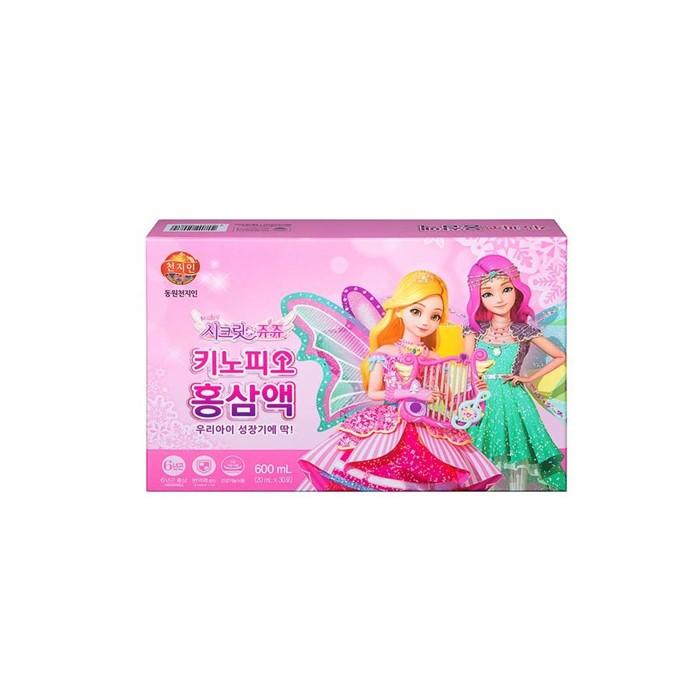 [천지인] [] 키노피오 홍삼액 (20mLX30포) (시크릿쥬쥬)