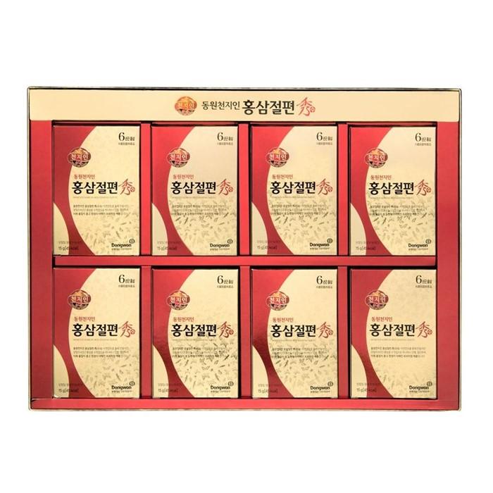 [천지인] [] 천지인 홍삼절편 수 (6년근) 120g