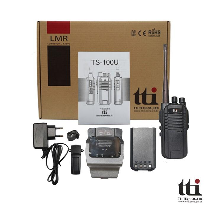 티티아이텍 TS - 100U 가성비좋은 업무용무전기