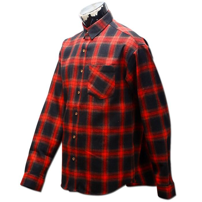 남자 오버핏 체크 남방 와이 셔츠 41 MS No6 OV